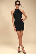 Love Poem Black Lace Dress 2