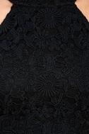 Love Poem Black Lace Dress 4