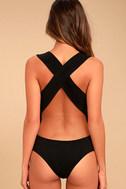 Match Point Black Bodysuit 3