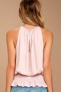 Cherished Memories Blush Pink Sleeveless Top 3