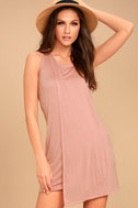 Simply Fantastic Blush Pink Shift Dress 1
