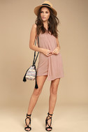 Simply Fantastic Blush Pink Shift Dress 2