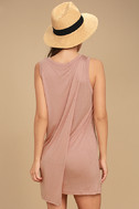 Simply Fantastic Blush Pink Shift Dress 3