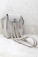 Sidewalk Stunner Grey Backpack 2