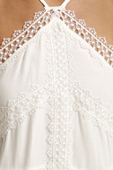 Always Together White Lace Crop Top 4