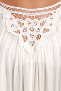 Billabong Sand Gypsy Ivory Lace Cover-Up 4