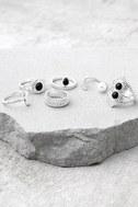 Mystic Beauty Silver Ring Set 1