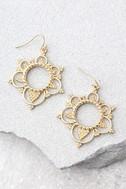 Always Enchanted Gold Earrings 1