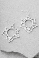 Always Enchanted Silver Earrings 1