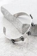Tropical Treasures Silver Cuff Bracelet 2