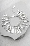 Pieces of Paradise Silver Bracelet 1