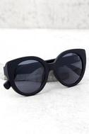 Perverse Feline Black Sunglasses 1