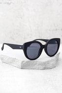 Perverse Feline Black Sunglasses 2