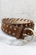 Indio Gold and Brown Belt 1