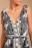 Mystical Moment Grey Print Maxi Dress 4