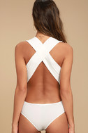Match Point White Bodysuit 3