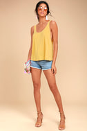 Finally the Weekend Yellow Tank Top 2