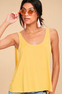 Finally the Weekend Yellow Tank Top 3