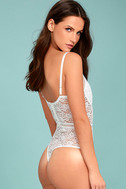 Lady Marmalade White Lace Bodysuit 2
