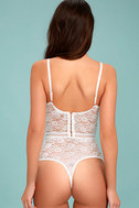 Lady Marmalade White Lace Bodysuit 3