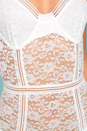 Lady Marmalade White Lace Bodysuit 4
