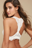 From a Dream White Lace Bralette 3