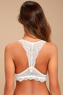 From a Dream White Lace Bralette 4