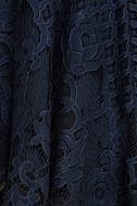 Black Swan Desirae Navy Blue Lace Skater Dress 4