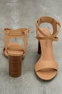 Madelaine Natural High Heel Sandals 2