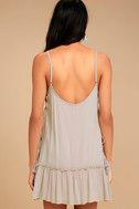 PPLA Gia Light Beige Lace-Up Dress 3