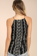 Stargazer Black Embroidered Top 3