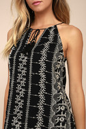 Stargazer Black Embroidered Top 4