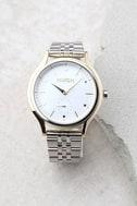 Nixon Sala Silver and Pearl Watch 1