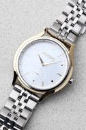 Nixon Sala Silver and Pearl Watch 2