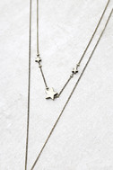 Cute Constellation Gold Layered Necklace 2