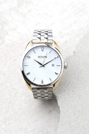 Nixon Bullet Silver and Pearl Watch 1