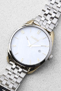 Nixon Bullet Silver and Pearl Watch 2