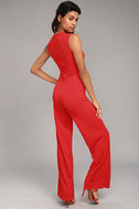 Enticing Endeavors Red Jumpsuit 2