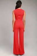 Enticing Endeavors Red Jumpsuit 3