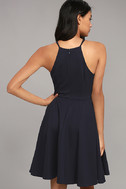 Best of You Navy Blue Midi Dress 3