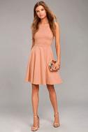 Best of You Blush Pink Midi Dress 2