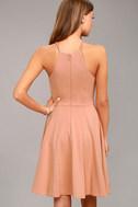 Best of You Blush Pink Midi Dress 3