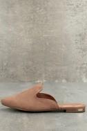 Ember Camel Loafer Slides 1