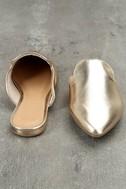 Ember Gold Loafer Slides 3