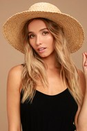 Wyeth Suzy Beige Straw Sun Hat 1