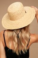 Wyeth Suzy Beige Straw Sun Hat 2