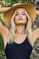 Into the Groove Black Backless Bodysuit 3