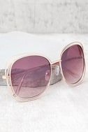 The Keys Gold and Pink Sunglasses 1