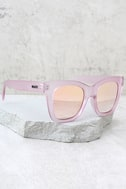Quay After Hours Pink Mirrored Sunglasses 2