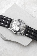 Lovestrength Sienna Black Leather Belt 2